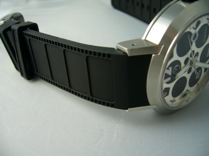Cinema Kino Watch Rubber Strap film strip texture