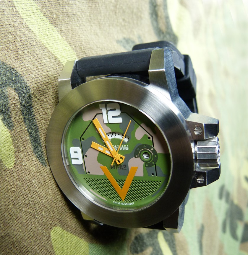 M1 Abrams wristwatch from Morpheus