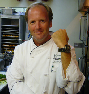 Chef Michael Jordan and his Culinary Watch from Morpheus