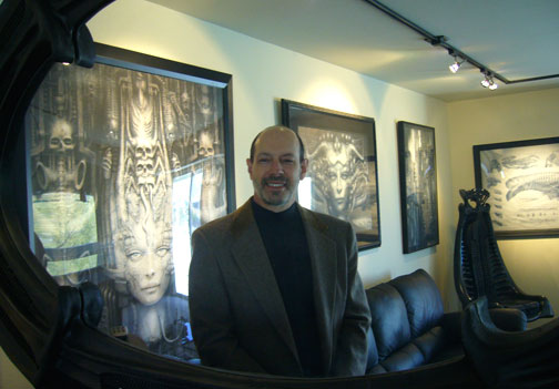 James Cowan of Morpheus Art and  Watches