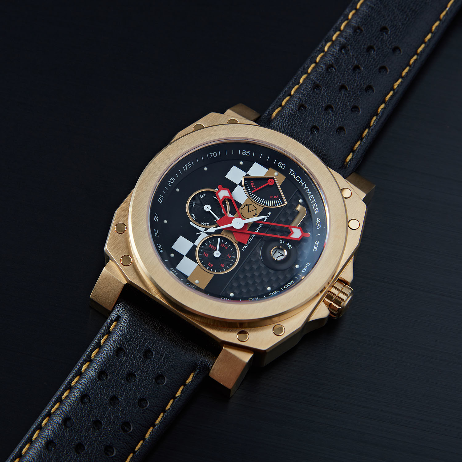 veloce speciale racing watch from morpheus