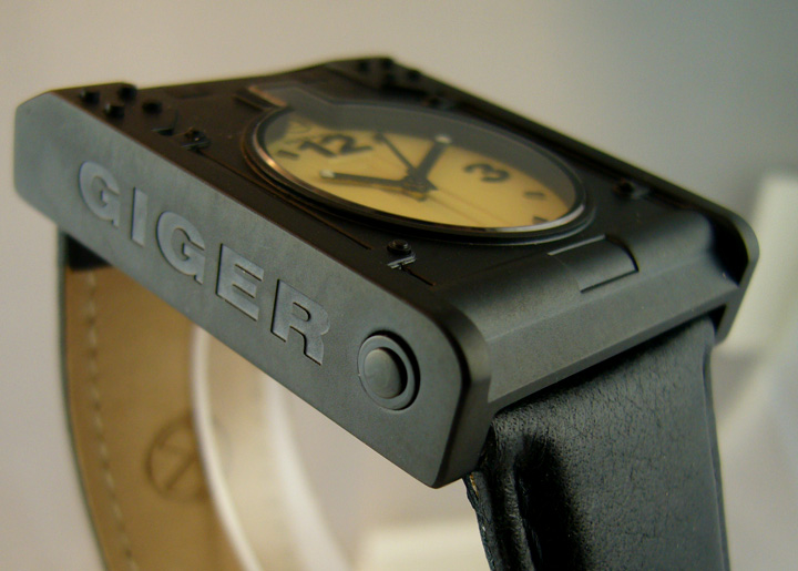 H.R. Giger Passagen watch from Atelier Morpheus ETA 2824