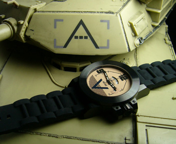 M1A2 Tank Watch from Morpheus