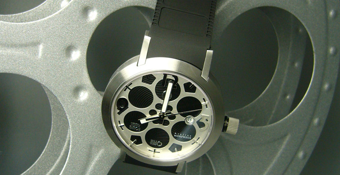Morpheus Cinema Kino watch made in Switzerland