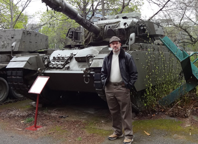 James Cowan of Morpheus and Centurian Tank in Vienna