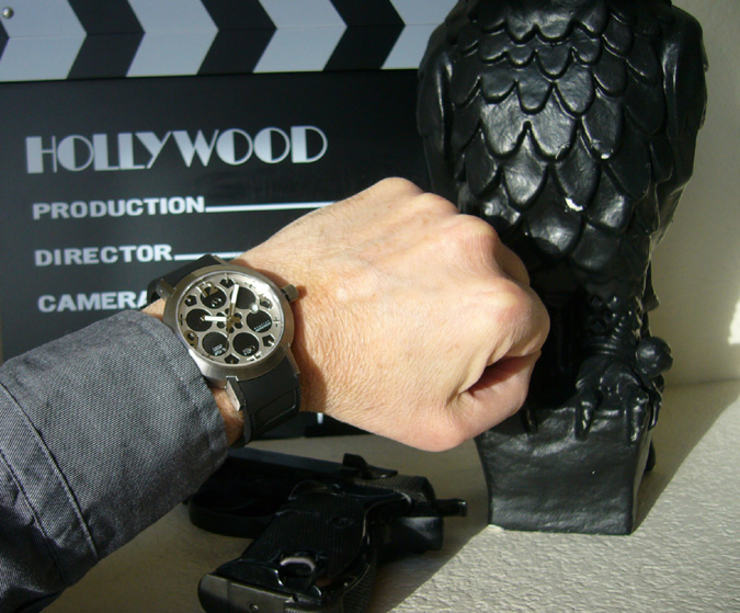 The Cinema Watch Swiss made automatic from Morpheus