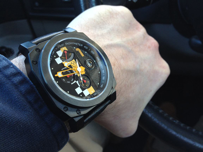 Veloce Giallo F1 watch from Morpheus