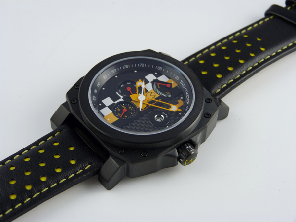Veloce Giallo F1 racing watch from Morpheus