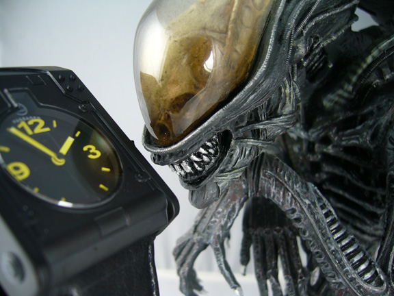 giger watch from morpheus with alien