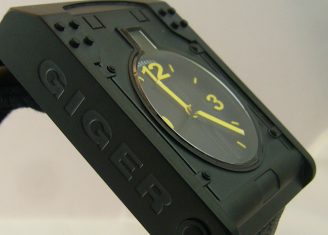 Giger wristwatch morpheus watches