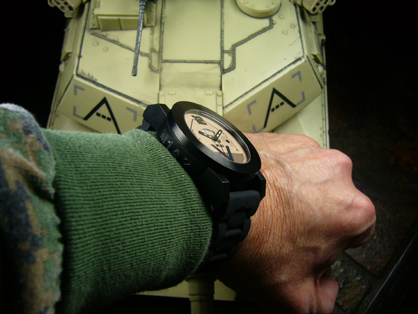 M1A2 Abrams Tank Watch Swiss Quartz