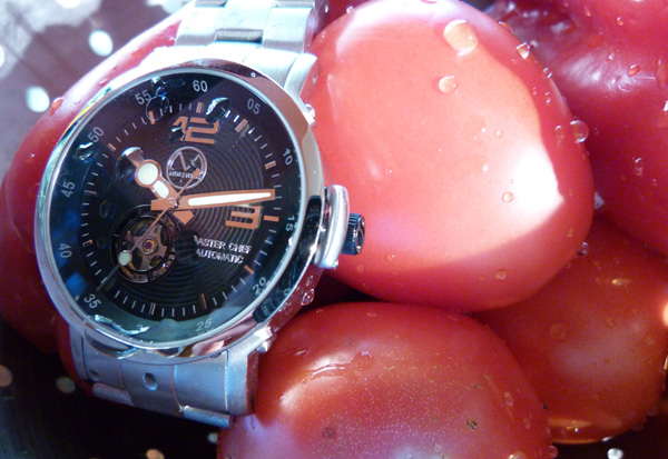 Master Chef automatic watch in 316L brushed stainless