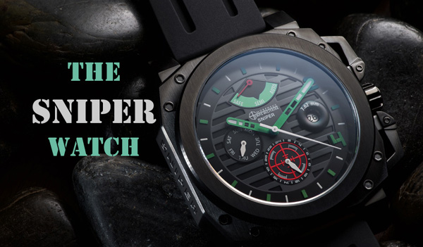 Sniper tactical themed Morpheus watch