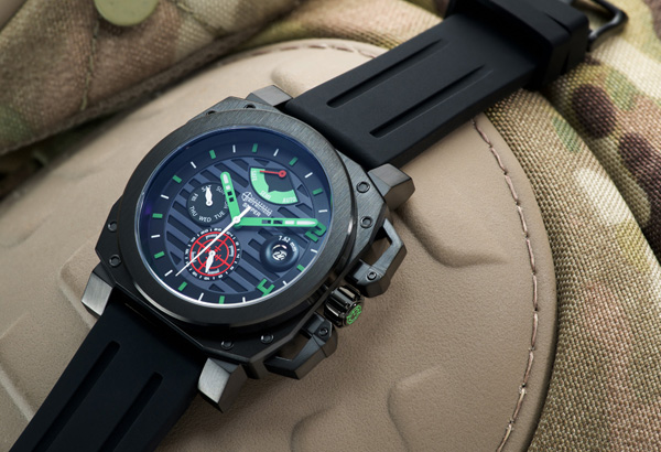 Morpheus Sniper wristwatch automatic military watch